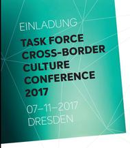 Konference Task Force Cross Border Culture v Drážďanech (7. 11. 2017)