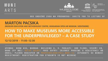 How to make museum more accesible for the underprivileged?