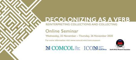 Online seminář Decolonizing as a Verb: Reinterpreting Collections and Collecting
